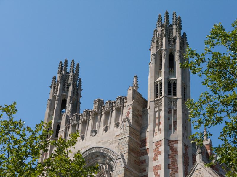 Yale university building
